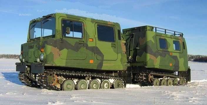 «ЛОСЬ», помёт и дядя Ваня! Hagglunds Bandvagn 206