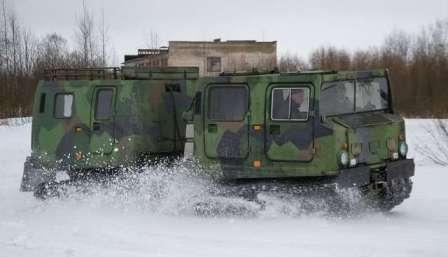 «ЛОСЬ», помёт и дядя Ваня! Hagglunds Bandvagn 206. Старт!