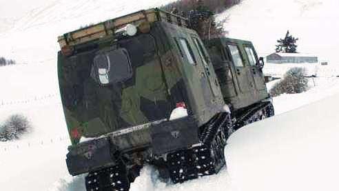 «ЛОСЬ», помёт и дядя Ваня! Hagglunds Bandvagn 206. Тяжелый подъем