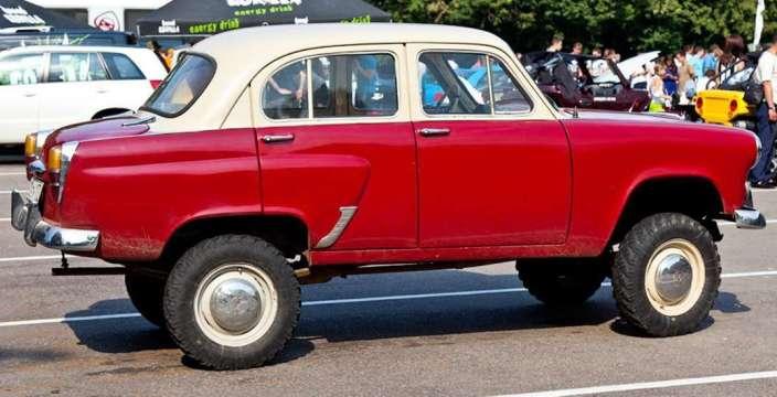 «Москвич- 410-411» первые в мире вездеходы лёгкого класса. 410