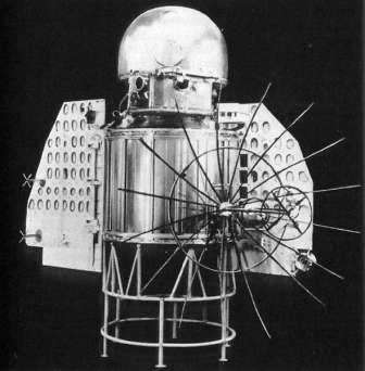 АМС Венера-1 и ракета Зонд-1