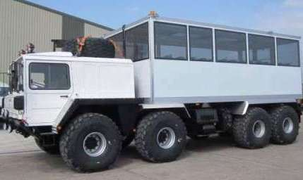 Автобус-Вездеход-Мужчина. MAN 40.400 8x8 Автобус