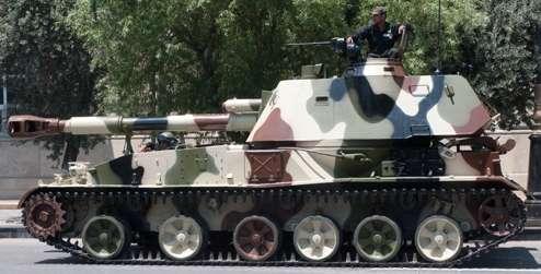 Акацию пересадили. 152-мм САУ 2С3 «Акация» на службе в армии Азербайджана