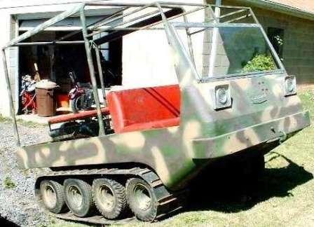 Американские развлекательные вездеходы. Cat-A-Gator 8x8 на гусеницах