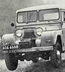 Английский Будулай. 2-4 Серия. Austin Motor Company Austin Gipsy G2 M10
