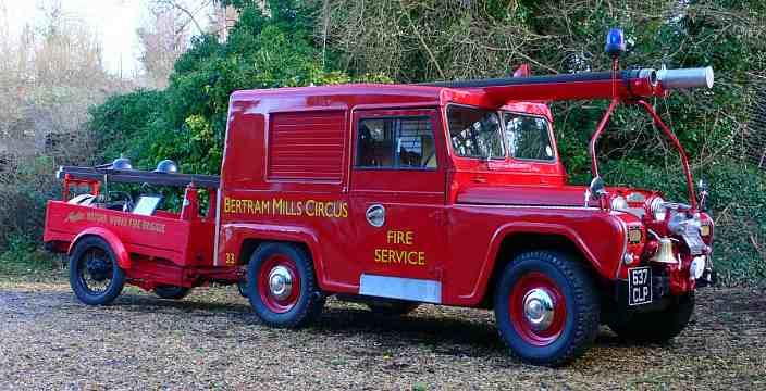 Английский Будулай. 2-4 Серия. Austin Motor Company Austin Gipsy G4 M10 Fire Tender