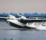 Аэроволга Ла-8Л взлет