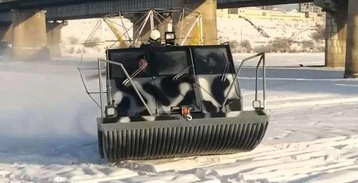 Аэролодки Нерпа 600 на 630 Нерпа 600 на снегу