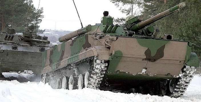 БМП «Рыцарь» обновка для Арктической бригады