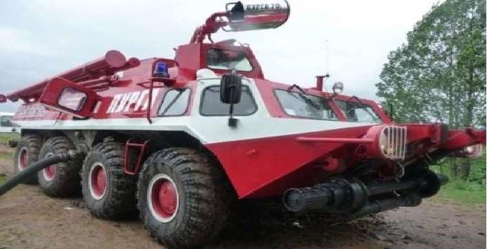 БТР Гражданский, Пожарный ГАЗ-59037 ПУРГА-2