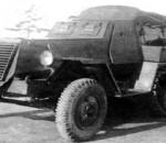 БТР-44 (ЗИС Б-3) полугусеничная советская бронемашина