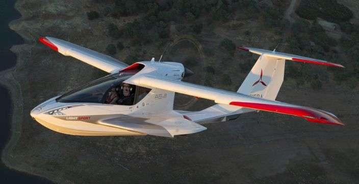 Безопасный самолет-амфибия Icon A-5