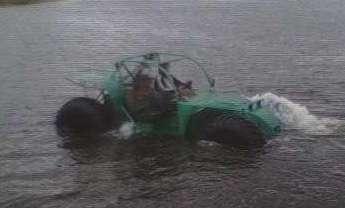 Без подвески. Самоходная машина ВТС «МП». Плавает