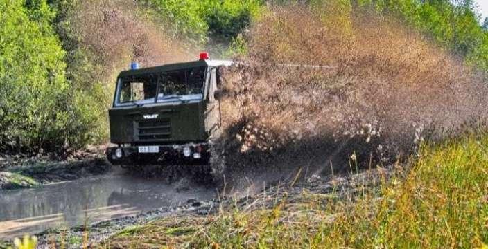 """Белорусский богатырь на страже пограничных рубежей """"Волат"""" МЗКТ-5002"""