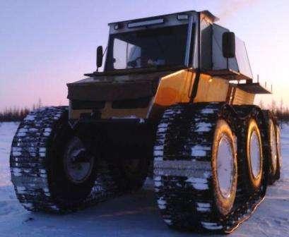 Беркут-8 от Тюменского завода вездеходной техники на гусеничном ходу