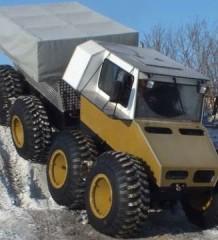 Беркут-8 от Тюменского завода вездеходной техники