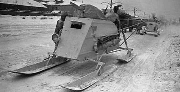 Боевые Аэросани НКЛ-26 и ГАЗ-98 (РФ-8)