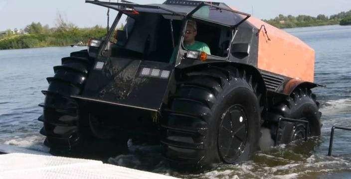 Большие колеса для ШЕРП