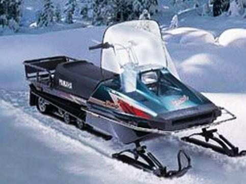 Браво! Yamaha. Утилитарный снегоход Yamaha Bravo 250T
