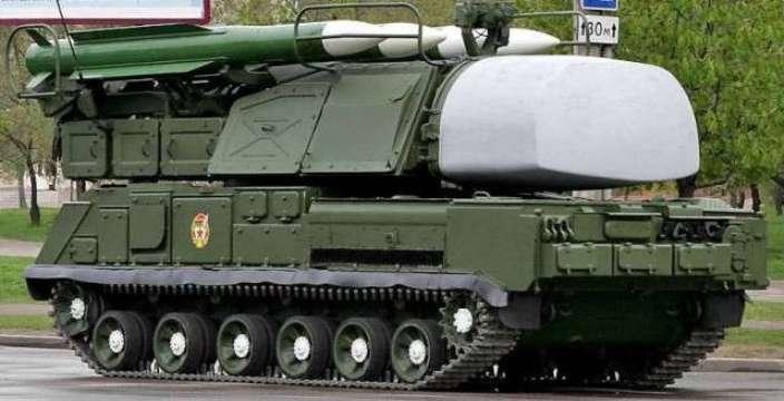 Буковые гусеницы ГМ-569 Зенитно-Ракетный комплекс Бук