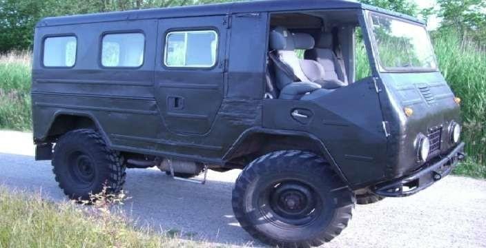 Буханка Лапландер. Volvo L3314
