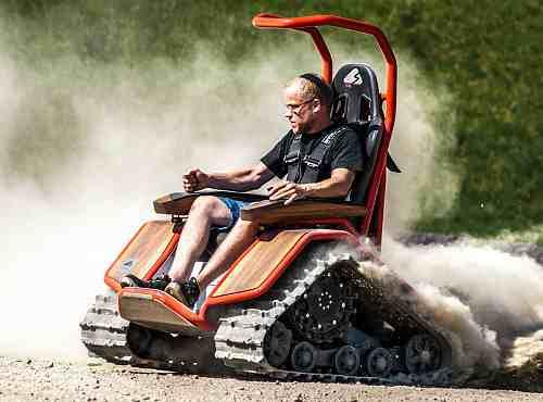 Быстрый, сильный, электрический, Суслик, для людей с ограниченными возможностями MATTRO - ZIESEL Спорт
