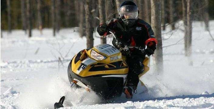Быстр и лёгок Snow Hawk 600 H.O.