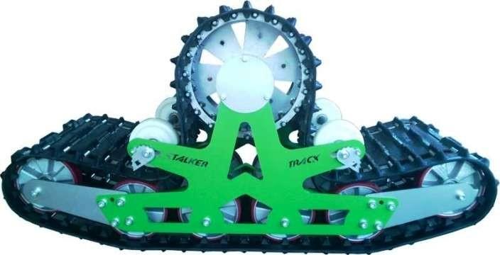 ВГД Stalker Track гусеничный движитель вместо колёс - критика