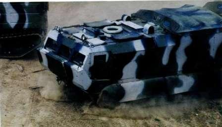 Вездеходы амфибии Витязь ДТ-20П бронированные для Вооруженных сил