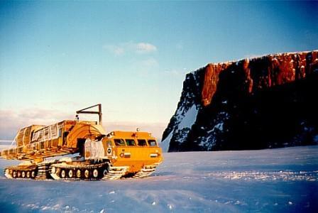 Вездеходы амфибии Витязь ДТ-30, ДТ-20, ДТ-10П для Арктики