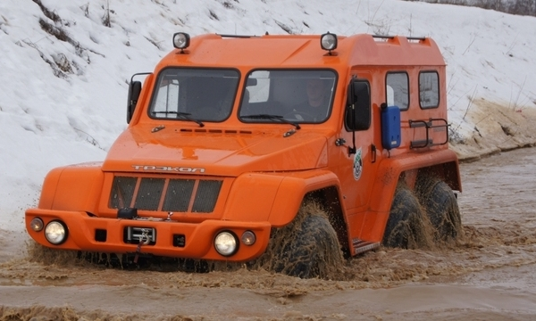 Вездеходы-снегоболотоходы «Трэкол» и особенности Трэкол 39294