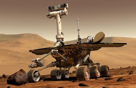 Вездеход по исследованию Марса Opportunity скоро пройдет марафон