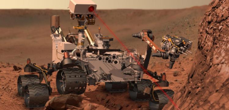 Вездеход Curiosity пока не работает