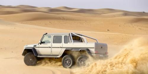 Вездеход Mercedes-Benz G63 AMG 6X6
