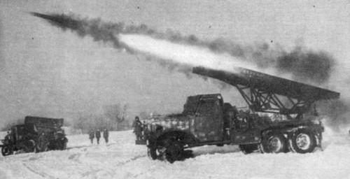Вермахт бежал под песню Катюши! Огонь! Реактивные минометы Катюша БМ-13 на базе ЗИС-6