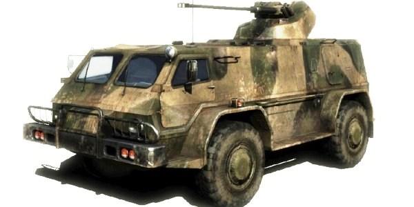 Водник ГАЗ-3937 VS Hammer H1 (2)