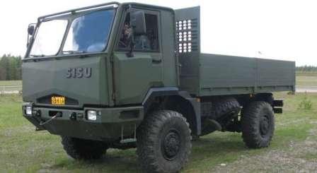Военный вездеход Sisu A2045