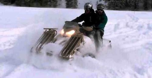 Военный снегоход - гусеничный вездеход T-ATV 1200 SAND-X MOTORS Военный Снегоход