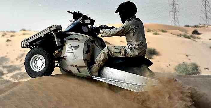 Военный снегоход - гусеничный вездеход T-ATV 1200 SAND-X MOTORS