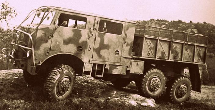 Вольво под ружьем. Volvo M42 TVC