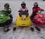 Все лучшее детям - серия снегоходов Polaris 120 DRAGON, Polaris 120 ASSAULT, Polaris 120 PRO-R, Polaris 120 INDY