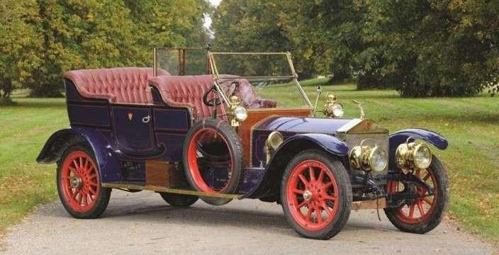 В серебрянных доспехах Rolls-Royce 40-50 h.p Silver Ghost