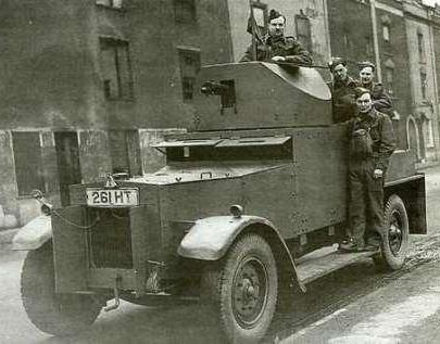 В серебрянных доспехах Rolls-Royce 40-50 h.p Silver Ghost Armoured car