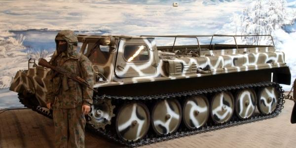 ГТСМ или ГАЗ-71 - второе покаленее Советских вездеходов