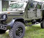 Гелендваген одели в боевую броню. Mercedes LAPV 6.1 Pickup