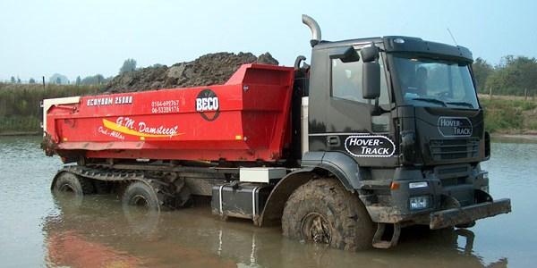 Голландский грузовой внедорожник - вездеход Hover-Track 540 (1)