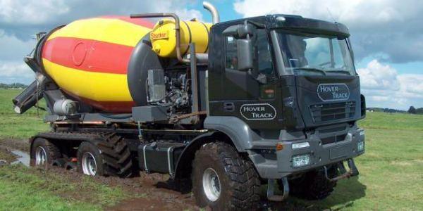 Голландский грузовой внедорожник - вездеход Hover-Track 540 (2)