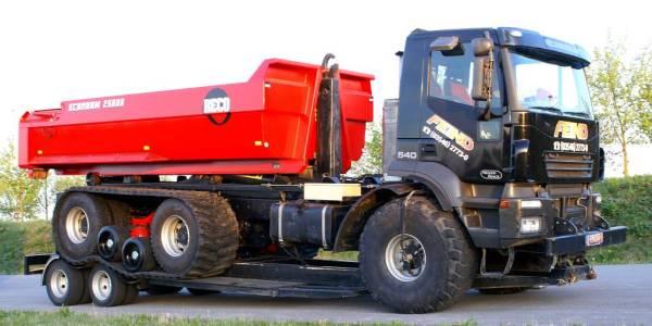 Голландский грузовой внедорожник - вездеход Hover-Track 440