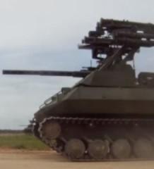 - Гусеничные беспилотники! Равняйсь, Смирно! Беспилотный танк УРАН-9