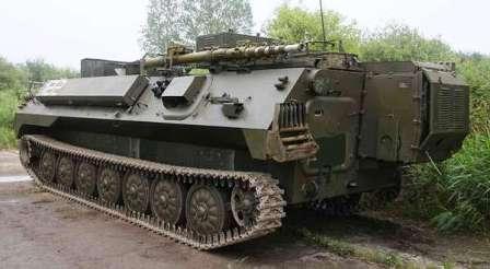 Гусеничный Лайт. МТ-ЛБУ Рубцовского машиностроительного завода. Оснащён дополнительным генератором  сзади